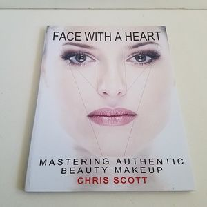 Face With A Heart Beauty Makeup Instructional Book